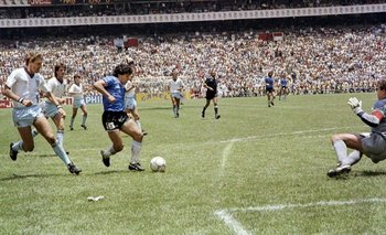 #GritaloPorDios: Así se gritó el gol de Maradona a Inglaterra 35 años después | Virales