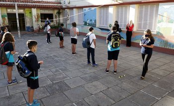 En Santa Fe los niños vuelven a las aulas entre advertencias de científicos | Segunda ola de coronavirus