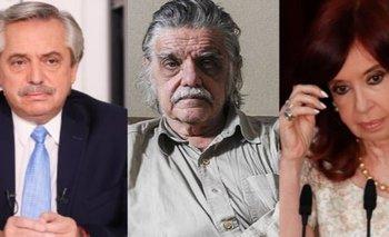 La despedida de Alberto y Cristina a Horacio González | Murió horacio gonzález