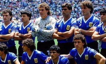 La historia detrás de las camisetas del Argentina vs. Inglaterra del Mundial 86   Campeon mundial 1986