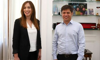 """Continúa el cruce entre Vidal y Kicillof por """"el pago en sobres""""   Provincia de buenos aires"""