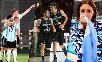 La agenda de los argentinos en los Juegos: días y horarios   Juegos olímpicos