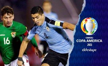 Uruguay - Bolivia, chocan por un lugar en la próxima ronda   Copa américa 2021