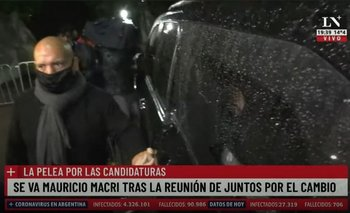La seguridad de Macri agredió a un camarógrafo de LN+    Televisión
