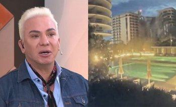 Derrumbe en Miami: el desesperado mensaje de Flavio Mendoza   Televisión