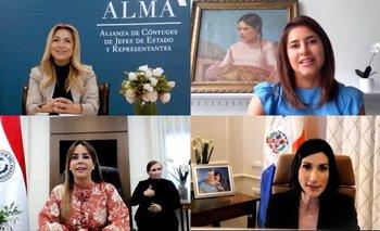 Fabiola Yañez y las Primeras Damas discutieron sobre cuidados de la Primera Infancia | Fabiola yáñez
