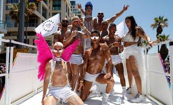 El desfile del Orgullo LGBTIQ+ colmó las calles de Tel Aviv | Día del orgullo lgbtiq+