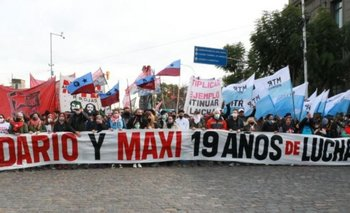 Masacre de Avellaneda: realizaron homenaje a Kosteki y Santillán | Maximiliano kosteki