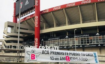 Hinchas de Boca cortaron la Lugones para recordar el descenso de River | River plate