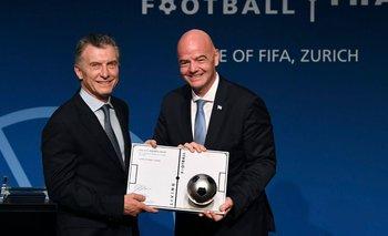 La FIFA le triplica fondos a Mauricio Macri con poco control   Macri en la fifa