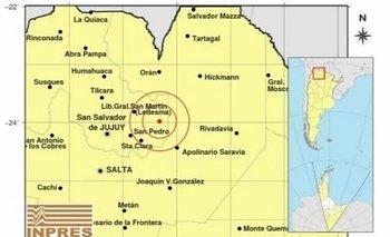 Se registró un sismo de 4.7 en Jujuy | Jujuy