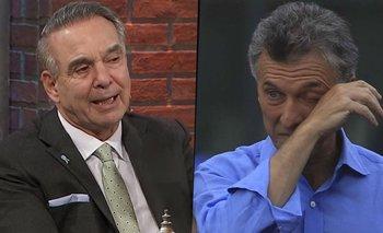 """La frase con la que Pichetto humilló a Macri en TN: """"Que se cuide""""   Mauricio macri"""