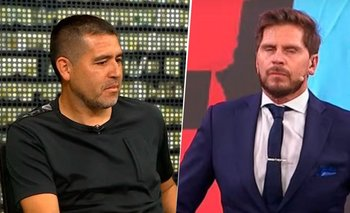 """Riquelme humilló al Pollo Vignolo en vivo: """"Los veo muy preocupados""""   Pollo vignolo"""