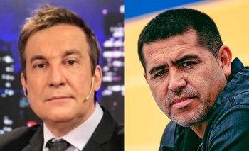 "Vilouta explotó contra Riquelme: ""Bastante maleducado"" | Televisión"