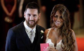 El tierno posteo de Antonela para Messi a 4 años del casamiento   Lionel messi