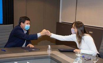 Potenciar Trabajo: Galmarini y Arroyo firmaron un convenio de colaboración | Inclusión social