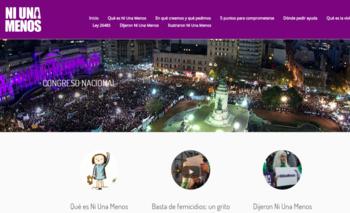 A un mes del #NiUnaMenos, la campaña ya tiene página propia | Femicidios