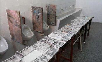 Insólito: cuarto oscuro en un baño de Corrientes   Elecciones en corrientes