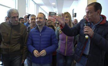 La fórmula Aníbal-Sabbatella, de campaña junto a Insaurralde y Mariotto | Martín insaurralde