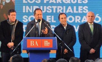 Elecciones 2015: alejado de Massa, Giustozzi se mostró junto a Scioli   Elecciones 2015