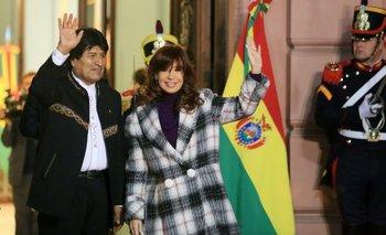 Evo Morales y Cristina Kirchner destacaron la unión de Unasur | Casa rosada