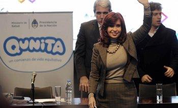 Cristina Kirchner se solidarizó con Victor Hugo Morales en Tecnópolis   Cristina kirchner