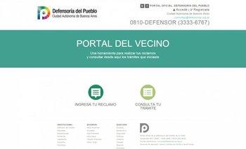 Un sitio web para las quejas de los porteños   Defensoría del pueblo
