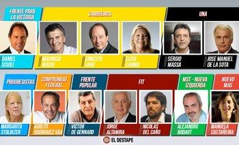 Elecciones 2015: ¿Quiénes son los trece candidatos a presidente? | Adolfo rodríguez saá