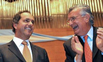 """Gioja elogió a Scioli: """"Es un hombre que conoce el país""""   Daniel scioli"""