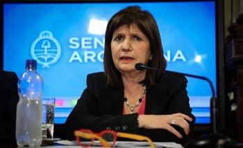 """Bullrich sobre el supuesto dueño de Tiempo Argentino: """"Tiene que estar preso""""   Patricia bullrich"""