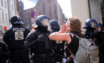 G-20: manifestantes impiden salir a la mujer de Trump del hotel | Donald trump