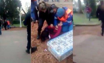 La policía golpeó y detuvo a menores de edad que festejaban el Día del Amigo en Luján   Luján