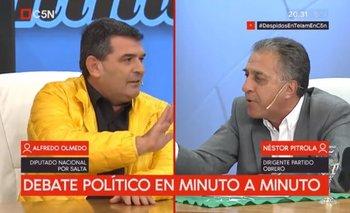 """Pitrola destrozó al diputado Olmedo: """"Vos sos un ladrón del Estado""""   Congreso"""