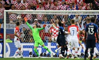 Rusia 2018 | Francia-Croacia: Los goles del primer tiempo en la final | Mundial rusia 2018