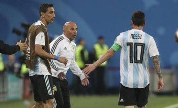 Los detalles del encuentro de Messi y Sampaoli en el vestuario de la Selección | Afa