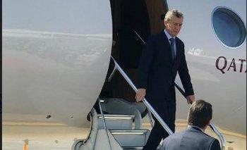 Macri arribó a Sudáfrica para participar de la reunión del BRICS   Mauricio macri