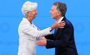Renunció Lagarde y dejó la dirección del FMI  | Christine lagarde