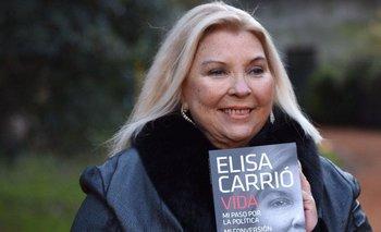 Imitar a Cristina: Lilita lanzó un libro sobre su vida   Se copia de cfk