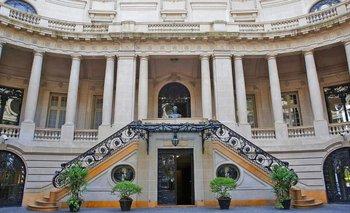 Cancillería pone en alquiler el Palacio San Martín | Macrisis