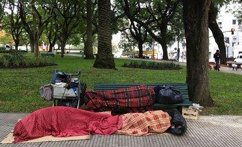 En dos años aumentó más del 23% la gente en situación de calle en la Ciudad   Pobreza