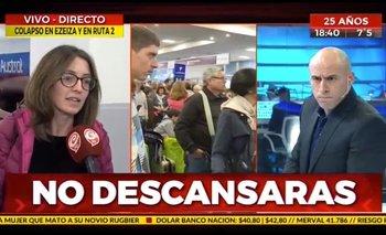 Periodista oficialista quiso ridiculizar el paro aeronáutico y quedó mal parado | Paro aeronáutico