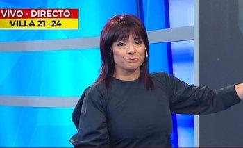 Conductora de Crónica TV se quebró en vivo al ver a niños en la calle con ojotas en el frío | Rosario lufrano