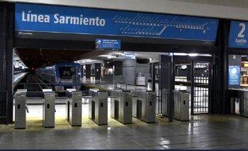 Cierran boleterías y levantan molinetes en el Tren Sarmiento | Tren sarmiento