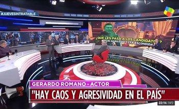Romano cruzó a periodista de Clarín en intratables | Gerardo romano