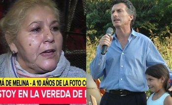 Apareció la mamá de la niña que se sacó fotos con Macri en 2007 y estalló | Mauricio macri