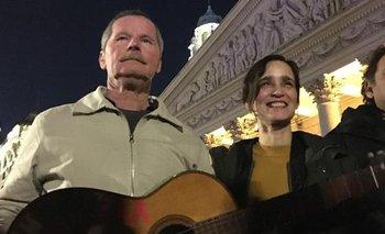 Julieta Venegas dio un recital para personas en situación de calle | Juan carr