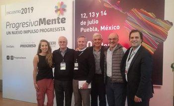 El Frente de Todos visitó el Encuentro PogresivaMente en México   México