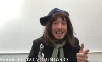 La desopilante parodia de Rechimuzzi sobre Bullrich y la nueva colimba | Colimba