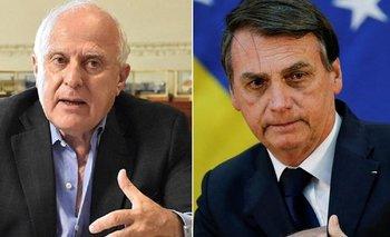 Cumbre del Mercosur: critican a Lifschitz por distinguir a Bolsonaro | Cumbre del mercosur
