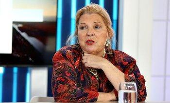 Elisa Carrió se rió en vivo de Alberto Fernández y de la CGT | Elecciones 2019
